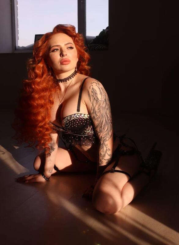 Эскорт рыжая милашка Карина фото - 1
